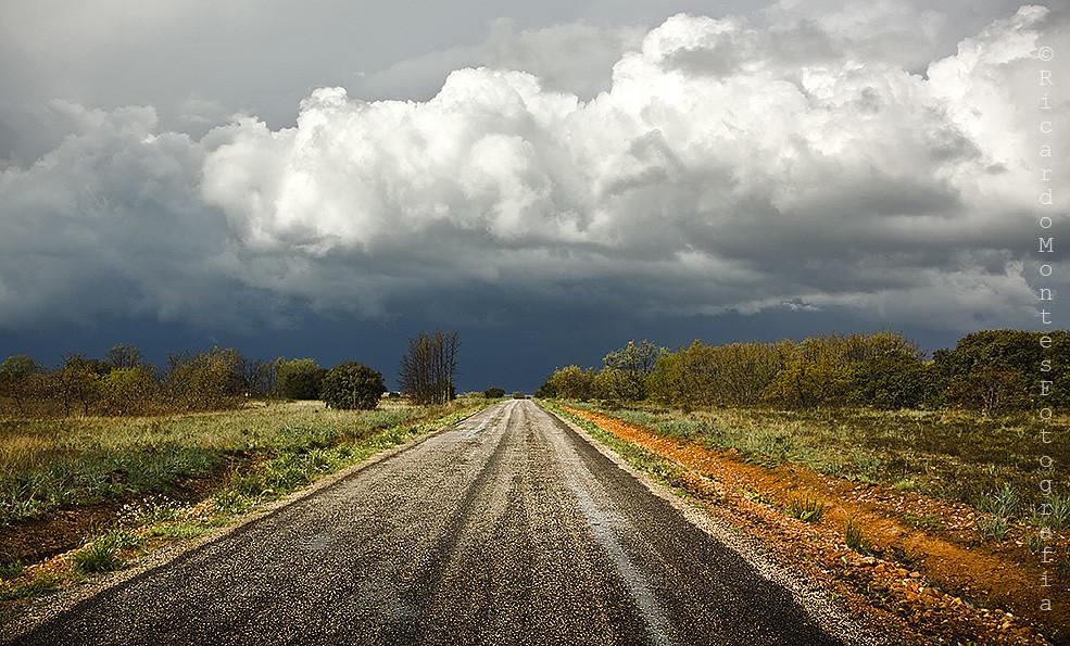 Se avecina tormenta camino del Páramo...