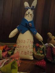 Pscoa 2011 (Karen Barcelos) Tags: rabbit bunny easter egg artesanato fabric carrot enfeites patchwork coelho pascoa tecido