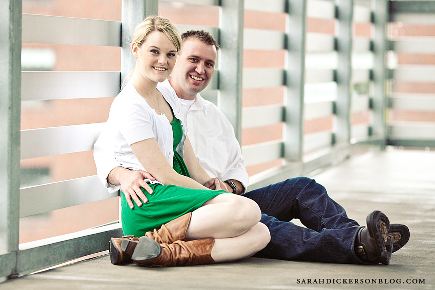 Kansas City Union Station engagement photography