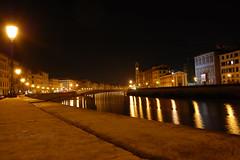 Pisa (fяє¢¢ιαfσℓℓια in stand by) Tags: light night reflections river reflex nikon italia fiume pisa arno toscana riflessi notturna soe ohhh italians d40 abigfave nikonflickraward mygearandme