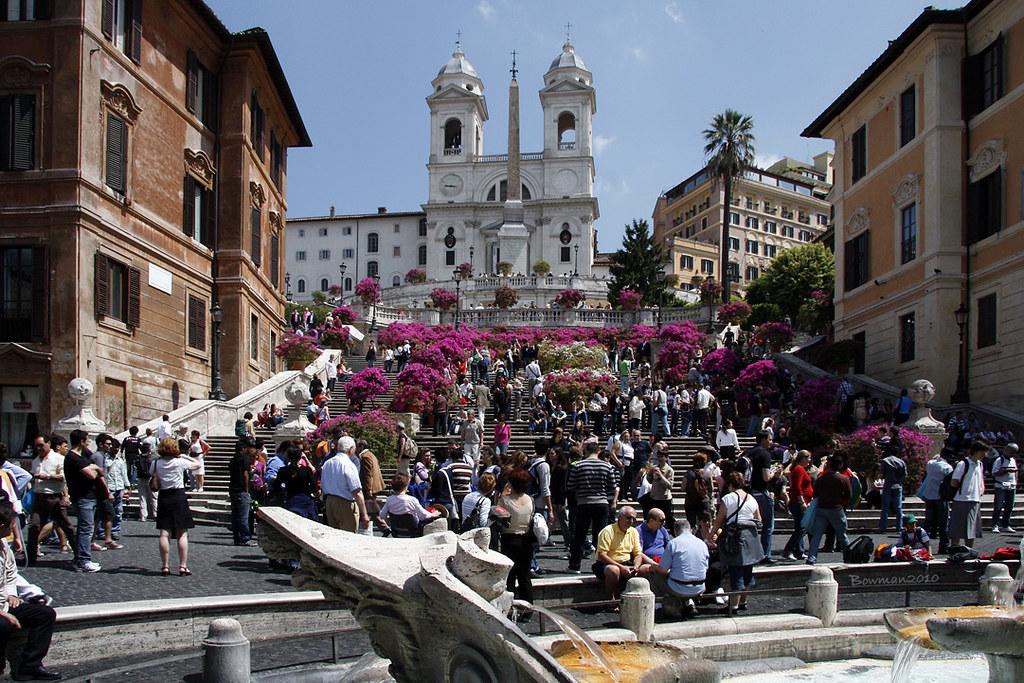 Rome - Spanish Steps & Trinita dei Monti