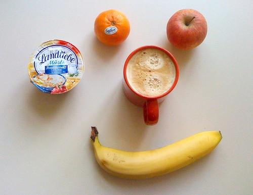 Landliebe Müsli, Banene, Apfel & Clementine