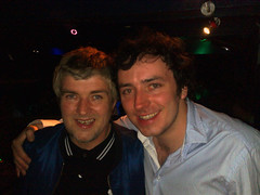 Paul Gallagher and Peter Dunphy in Brighton (fcbruno) Tags: eye paul brighton noel peter oasis gallagher liam beady dunphy