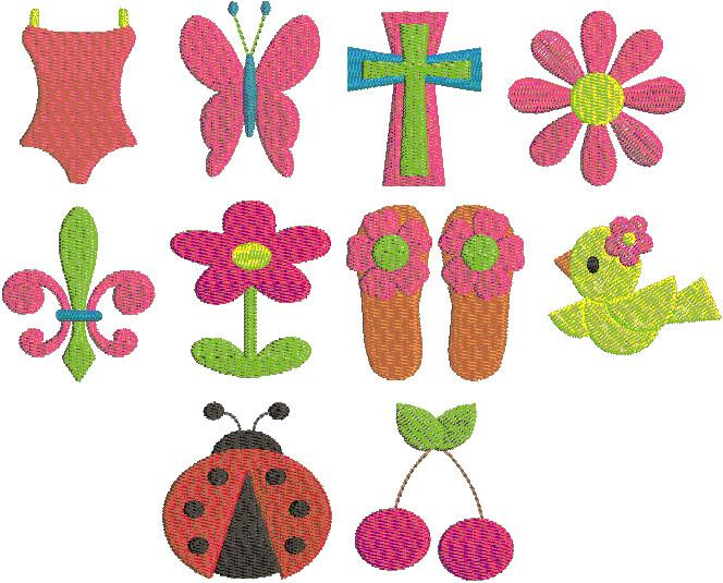 Mimi Embroidery Set 4