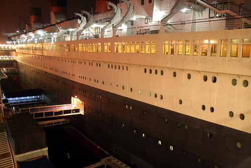 Queen Mary - Gangplanks at Night