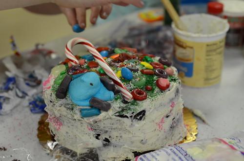 Team #1's cake.
