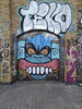 Teko, Burning Candy (tiptoeSOMA) Tags: streetart london art graffiti candy contemporaryart east urbanart burning teko graffitilondon tiptoesoma