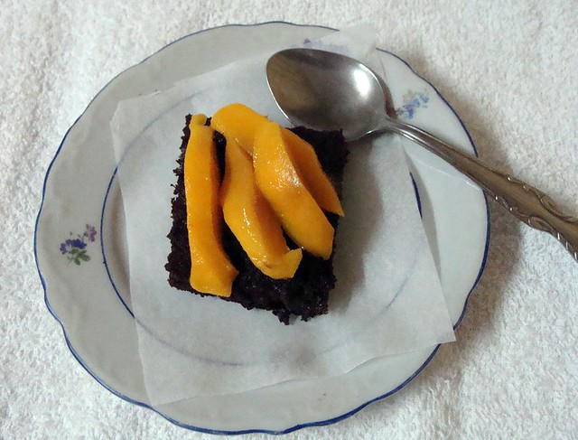 prajitura fina cu ciocolata si mango