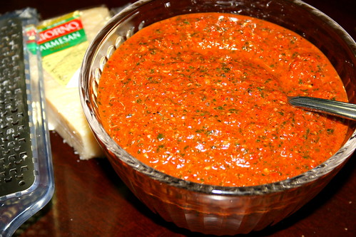 Roasted Red Pepper Pesto Recipes — Dishmaps