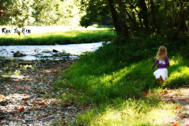 emma running by river