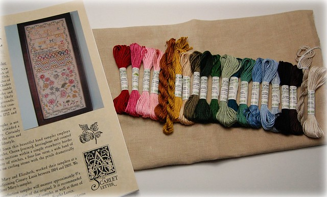 Dorothy Walpole threads and linen