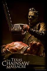 Carving up the turkey... (Boogeyman13) Tags: monster movie toy toys actionfigure leatherface horror remake neca platinumdunes slasher newlinecinema mezco thetexaschainsawmassacre thomashewitt