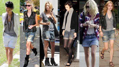 modelos de shorts boyfriend