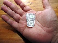 the shrinking dollar