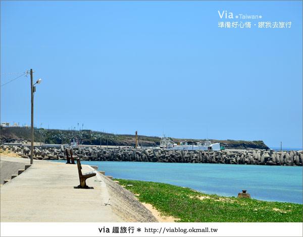 【澎湖沙灘】山水沙灘,遇到菊島的夢幻海灘!9