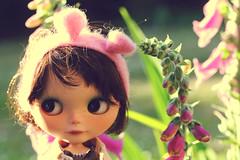 Do I look with cute the bunny ears ?!