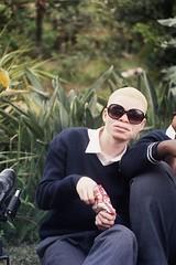 Über-cool albino