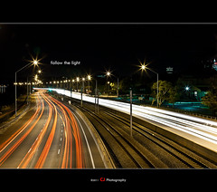 Follow the light.. (Musaad (CJ)) Tags: cars night lights long exposure perth pip shutter bestofaustralia