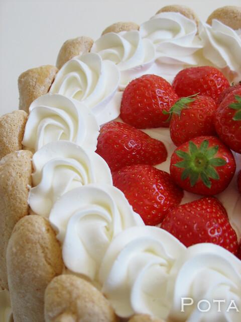 Charlotte aux fraises - Šarlota od jagoda