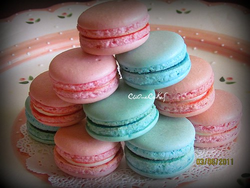50pcs macarons - hairiniza