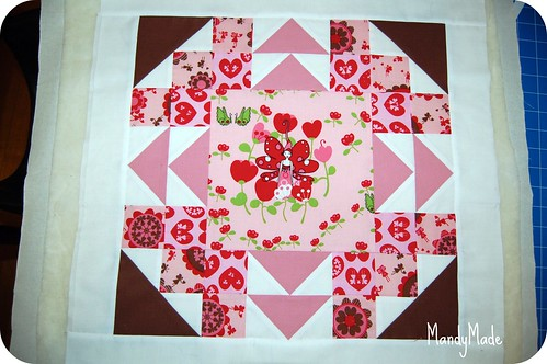 Pillow - before quilting