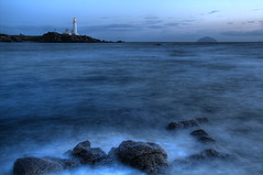 Turnberry Bay (GlasgowPhotoMan) Tags: lighthouse scotland clyde stevenson hdr highdynamicrange ayrshire turnberry ailsacraig firthofclyde northernlighthouseboard nlb theopen turnberrygolfcourse stevensonbrothers