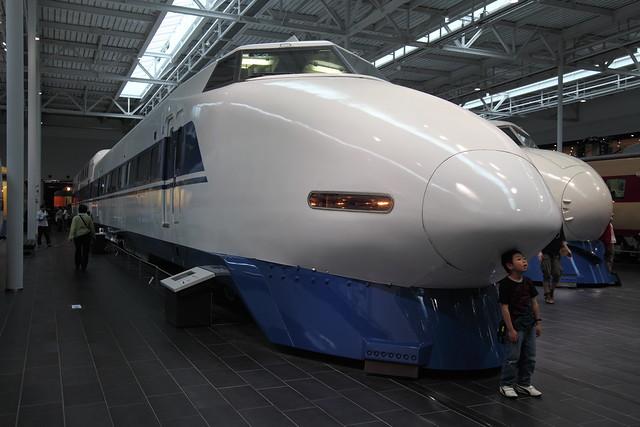 [リニア・鉄道館] 新幹線100系123形