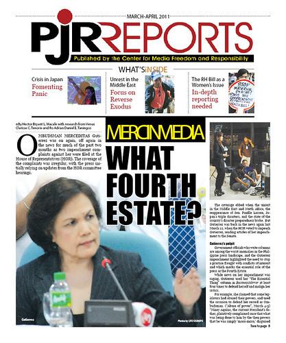 PJR Reports March-April 2011