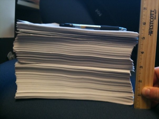 What happens when you print the contents of an EHR record for a single patient