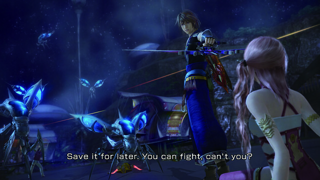 Final Fantasy XIII-2 - Noel and Serah