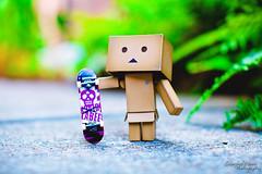 New Board (darktiger) Tags: japanese robot cool interesting funny board manga suit cardboard figure skateboard yotsuba danbo revoltech danboard cardbo actionfigure stanfordmoore