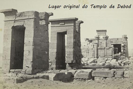 Templo de Debod - ubicación original