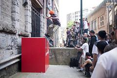 Smith Grind (KeatenSaba) Tags: wildinthestreets nikon2870mm 5dmkii nikontocanonadapter skateboardingvancouver keatensaba goskateboardingdayvancouver2011 mk25dskateboarding