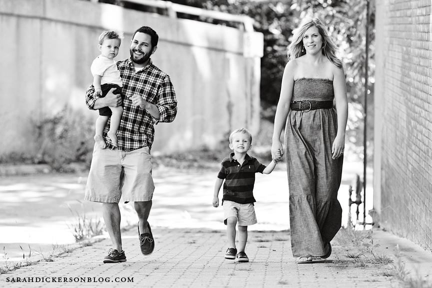 Kansas City River Market family photography