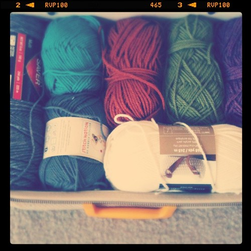 My Suitcase Full Of Yarn...