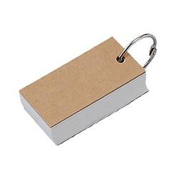 無印良品 再生紙単語カード