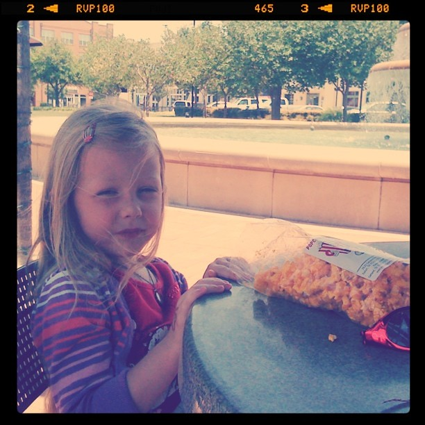 Popcorn @ the fountain