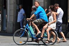 Amb passatgera (Bart Omeu) Tags: barcelona bcn