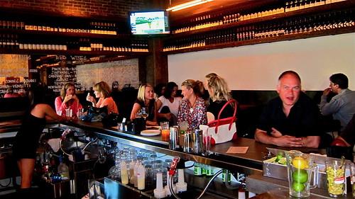 Hot bar scene