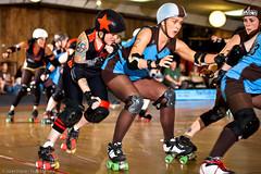 20110625.Oly-KC_0295 (Axle Adams) Tags: sports rollerderby rollergirls skaters olympia derby skates oly skateland kansascityrollerwarriors kcrw belladonnas olyrollers