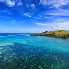 Aerial Drone Photos (spaceCityDrone) Tags: photo from bulabatiki flying dji phantom 3 advanced batiki island fiji is which our coconut oil comes where there no roads shops cars or hotels just 4 small villages having lived with local villagers volunteering project we started this nonprofit company way them get an income spacecitydrones vacation paradise coconutoil travel photography nature wanderlust sea sky blue world drone landscape