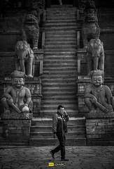 Walk.. (Udhabkc) Tags: ifttt udhabkc udhab 500px street photography city urban candid black white architecture blackandwhite monochrome nikkorgrapher nikkorgraphy nikon nikkor nikond700 iamnikkorgrapher iamnikon iamnikond700 nepal bhaktapur nyatopala temple hindu statue god man walk kathmandu