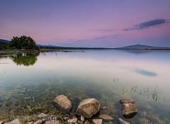 KEEP CALM (Nuria Castilla (Nursky)) Tags: sedas largaexposicin lago pantano atardecer nuriacastilla nursky el colibr viajero filtros naturaleza la pedriza madrid