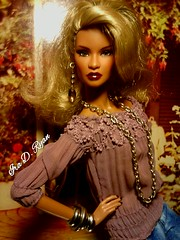 Ms. Dominique (krixxxmonroe) Tags: ira d ryan dominique makeda electric enthusiasm nu face my doll queen the fiercest black ever made imo