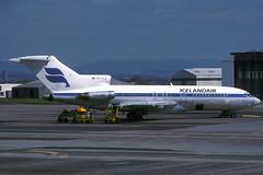 TF-FLG-1-EGPF-06MAY1989 (Alpha Mike Aviation Photography) Tags: icelandair boeing 727 tfflg glasgow abbotsinch gla egpf