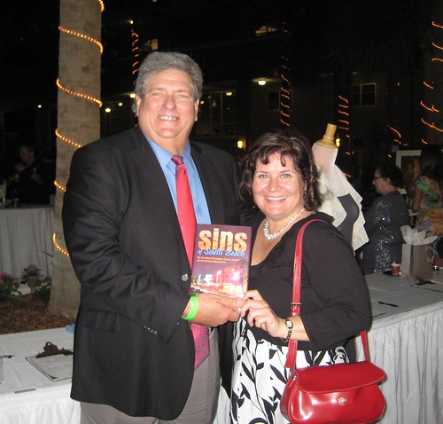 Former Miami Beach Mayor & Commissioner, Now Author Alex Daoud and Me with His Book