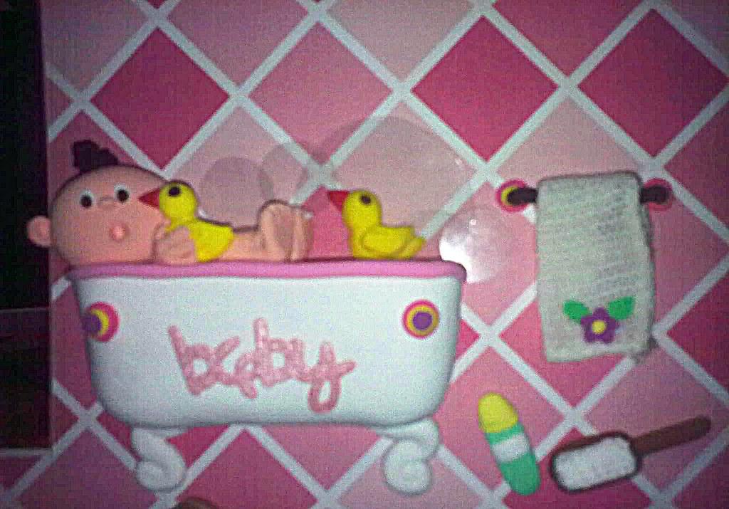 baby girl in a bath tub