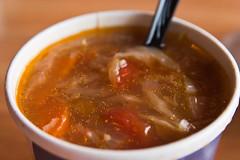 Sausage Cabbage Soup Uncle Cheetah Soup Shop March 21, 20111 (stevendepolo) Tags: food macro shop soup sausage cabbage grandrapids wealthystreet unclecheetah