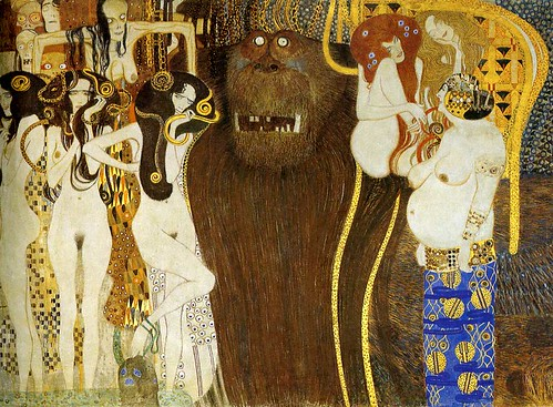Beethoven Frieze, Gustav Klimt