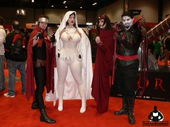 Wiccan, Ghost, Scarlet Witch, Mister Sinister (BelleChere) Tags: chicago costume comic cosplay ghost marvel wiccan darkhorse scarletwitch c2e2 mistersinister